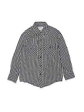 Pd&c Long Sleeve Button-Down Shirt Size M (Kids)