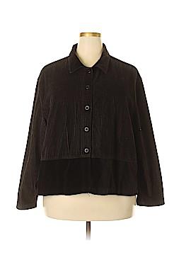 Denim Co Jacket Size 2X (Plus)