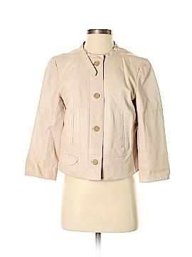 Ann Taylor LOFT Leather Jacket Size 6