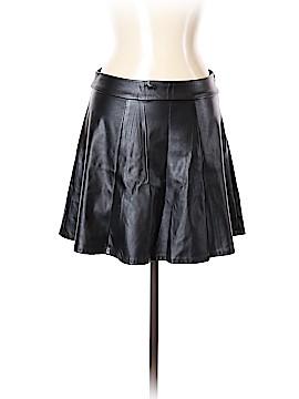Socialite Faux Leather Skirt Size L