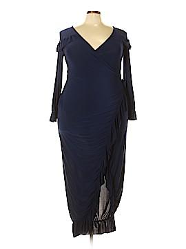 Boohoo Boutique Casual Dress Size 18 (Plus)
