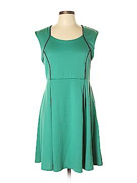 Yellow Star Casual Dress Size XL