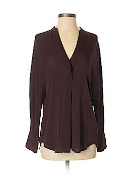Vince. Long Sleeve Silk Top Size XS