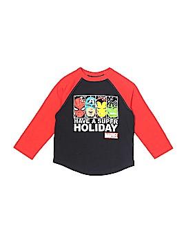 Marvel Long Sleeve T-Shirt Size 3