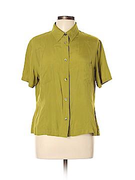 Classiques Entier Short Sleeve Blouse Size XL