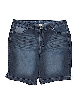 Faded Glory Denim Shorts Size 22 (Plus)