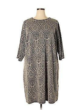 London Times Casual Dress Size 24 (Plus)