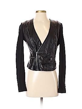 BCBGMAXAZRIA Leather Jacket Size XS