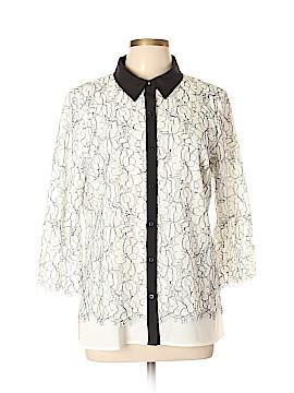 Karl Lagerfeld 3/4 Sleeve Blouse Size L