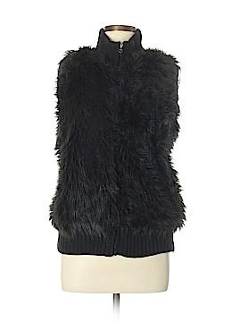 Willi Smith Faux Fur Vest Size L