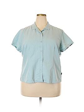 REI Short Sleeve Button-Down Shirt Size XXL