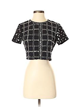 Glamorous Short Sleeve Top Size S