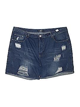 Boohoo Boutique Denim Shorts Size 20 (Plus)
