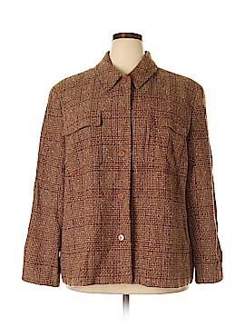 Liz Claiborne Wool Blazer Size 24 (Plus)