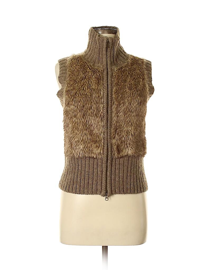 CAbi Women Faux Fur Jacket Size M
