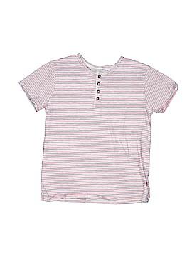 Zara Short Sleeve Henley Size 7