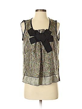 Marc Jacobs Sleeveless Silk Top Size 4