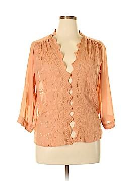 Love Stitch 3/4 Sleeve Blouse Size L