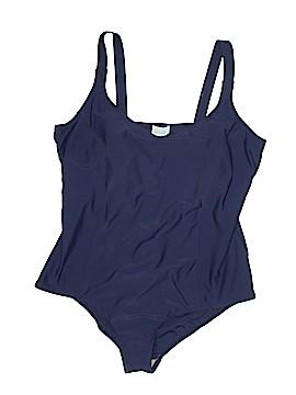 SWIM 365 One Piece Swimsuit Size 24 (Plus)