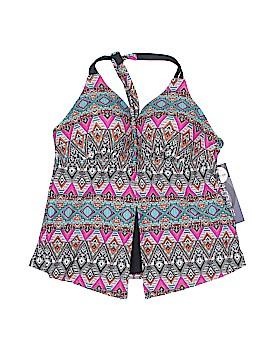 Separates Aqua Couture Swimsuit Top Size L