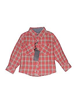 Pd&c Long Sleeve Button-Down Shirt Size 3T