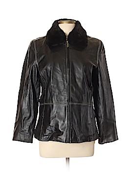 Blassport Leather Jacket Size L