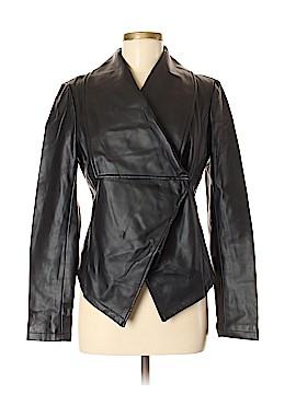 Shape FX Faux Leather Jacket Size 6
