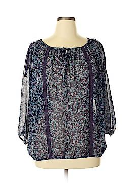 LC Lauren Conrad 3/4 Sleeve Blouse Size XL