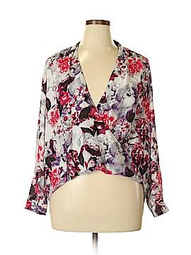 G by Giuliana Rancic Long Sleeve Blouse Size 16