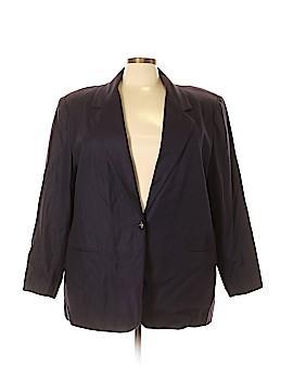 Sag Harbor Wool Blazer Size 24 (Plus)