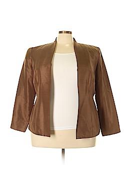 Adrianna Papell Silk Blazer Size 18 (Plus)