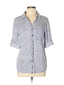 Grand & greene Long Sleeve Button-Down Shirt Size L