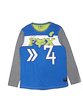 Fox Long Sleeve T-Shirt Size L (Youth)