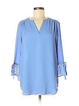 Van Heusen 3/4 Sleeve Blouse Size M
