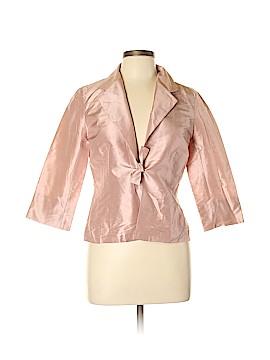 Gerard Darel Long Sleeve Silk Top Size 10 (42)