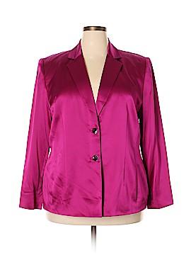 Valerie Stevens Silk Blazer Size 18 (Plus)