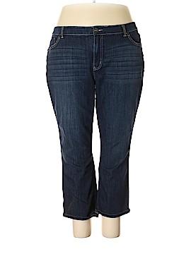 Simply Vera Vera Wang Jeans Size 22 (Plus)