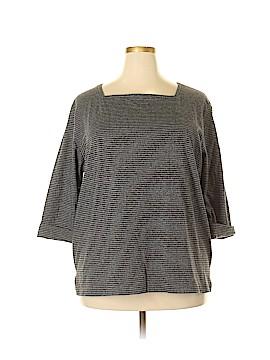 Josephine Chaus 3/4 Sleeve T-Shirt Size 2X (Plus)