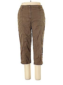 JM Collection Khakis Size 18 (Plus)