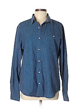 Next Long Sleeve Button-Down Shirt Size L