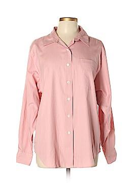 L.L.Bean Long Sleeve Button-Down Shirt Size L
