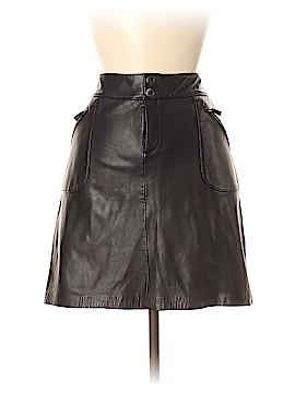 Lauren by Ralph Lauren Leather Skirt Size 14