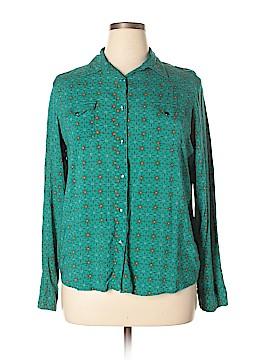 Wrangler Jeans Co Long Sleeve Blouse Size XL