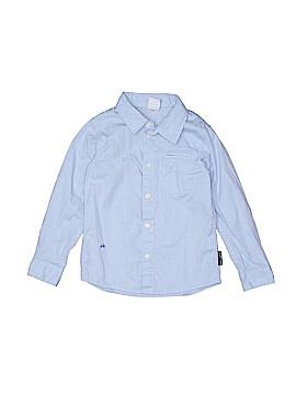 Polarn O. Pyret Long Sleeve Button-Down Shirt Size 3 - 4