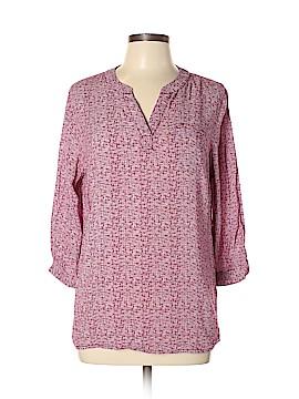 Anne Carson 3/4 Sleeve Blouse Size L