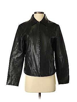 Gap Leather Jacket Size S