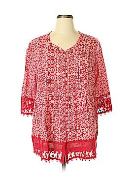 Blair 3/4 Sleeve Blouse Size XL
