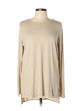 Joan Vass Long Sleeve T-Shirt Size L