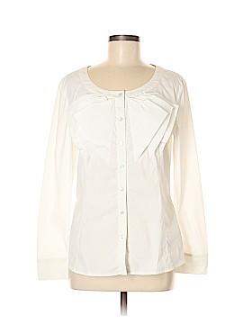Escada Long Sleeve Button-Down Shirt Size 40 (EU)