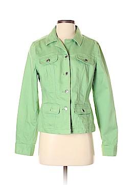 Villager Sport by Liz Claiborne Denim Jacket Size 10